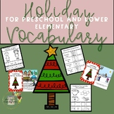 Interactive Holiday-Winter Vocabulary Packet