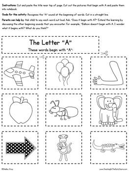 Interactive Homework Notebook {Kindergarten}