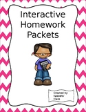 Interactive Homework Packets
