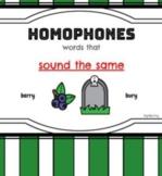 Interactive Homphones