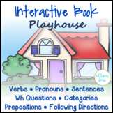 Playhouse Interactive Book Speech Therapy