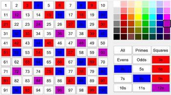 Interactive Hundreds Chart (Windows 8 Version)