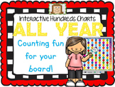 Interactive Hundreds Charts ALL YEAR - Counting Fun for your Board!