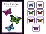 "Interactive ""I See Butterflies"" Color Booklet"