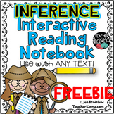Making Inferences, Interactive Reading Notebook