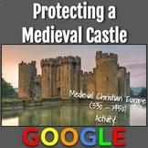 Interactive Image: Defending a Medieval Castle
