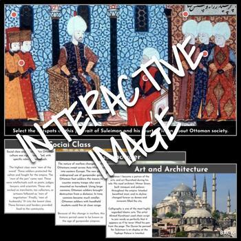 Interactive Image: Ottoman Empire under Suleiman