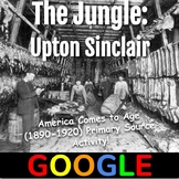 Interactive Image: The Jungle by Upton Sinclair
