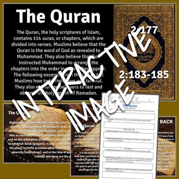 Interactive Image: The Quran (Primary Source Activity)