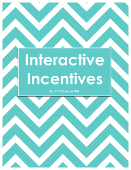 Interactive Incentives Printables