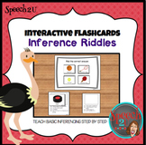 Interactive Inference Riddles: Speech therapy, language, autism, ABA
