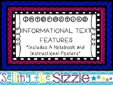 Interactive Informational Text Structure & Text Features Notebooks!
