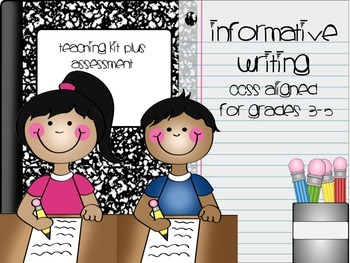 Interactive Informative Writing PowerPoint and Assessment