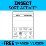 Insect Sort Activity