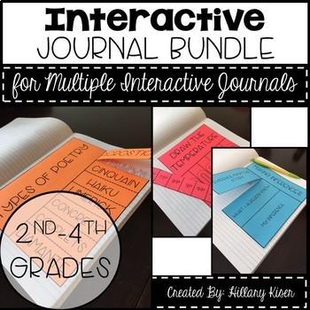 Interactive Journal Materials Bundle