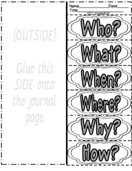 Interactive Journal ~ Common Core Aligned grades 5-8