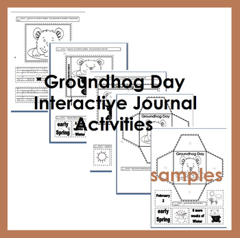 Interactive Journal Groundhog Day Activities Eng. only