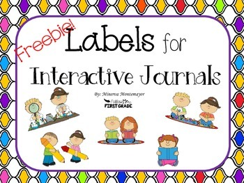Interactive Journal Labels