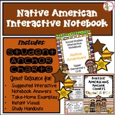 NATIVE AMERICANS COMBO - INTERACTIVE NOTEBOOK & ANCHOR CHA