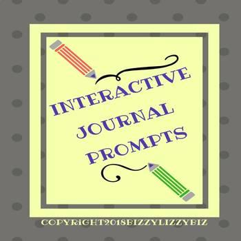 Interactive Journal Prompts