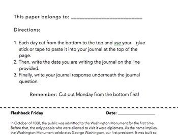 Interactive Journal Prompts - Week 1