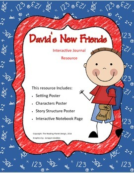 Treasures - David's New Friends (Interactive Journal and Posters)