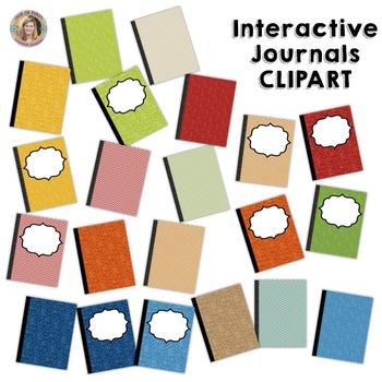 Interactive Journals (CLIP ART)