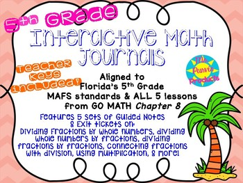 Interactive Journals - Dividing Fractions