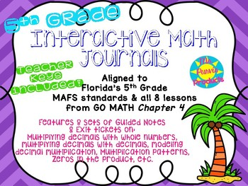 Interactive Journals - Multiplying Decimals
