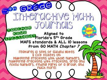 Interactive Journals - Multiplying Fractions
