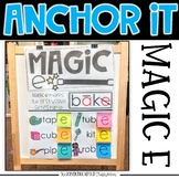 Interactive Kindergarten Anchor Charts | Magic E and Bossy E