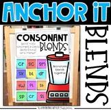 Interactive Kindergarten Anchor Charts | S, L, R, Blends A