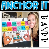 Interactive Kindergarten Anchor Charts | b and d Reversal