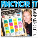 Interactive Kindergarten Anchor Charts | hard and soft c