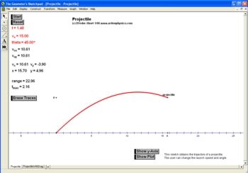 Interactive Kinematics: Projectile Motion