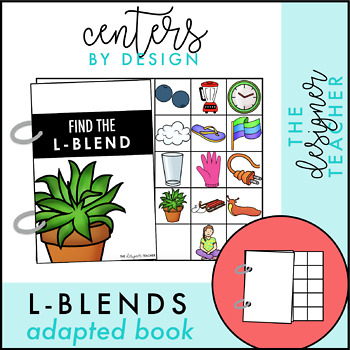 Interactive L-Blends Adapted Book