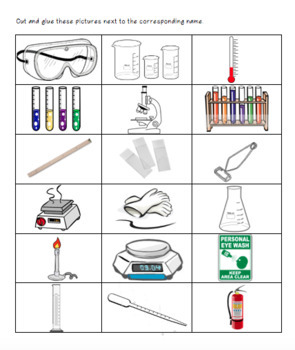 Interactive Lab Tools Activity and Webquest / Lab Materials / Lab Safety