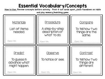 Interactive Language Activities: Simple Science