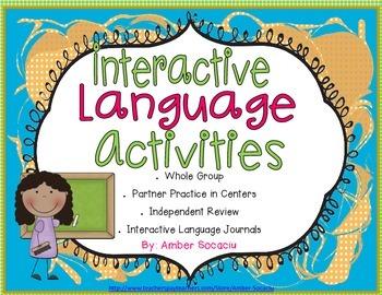 Interactive Language Activities for Interactive Language Journals