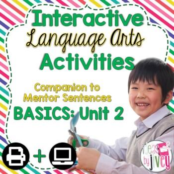 Interactive Language Arts Activities: Just the Basics Set 2 (Gr 3-5)