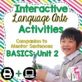 Interactive Language Arts Activities: Just the Basics Set