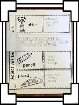 Interactive Language Arts Activities: Vol 3, FIRST Mentor Sentence Unit (Gr 3-5)