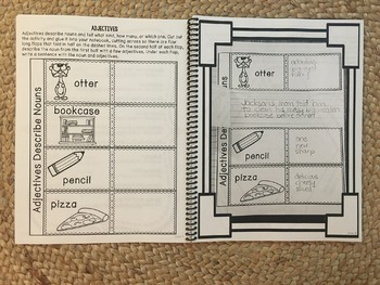 Interactive Language Arts Activities (Vol 3) for Grades 3-5 HARD COPY Book