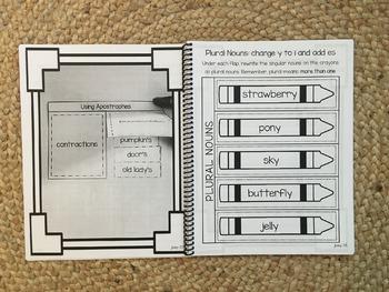 Interactive Language Arts Activities for Grade 2 HARD COPY Book