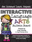 Language Arts Bulletin Board / Interactive Learning Center