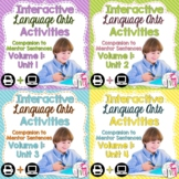 Interactive Language Arts Notebook (Vol 1) Bundle (Grades 3-5) - Four Units!