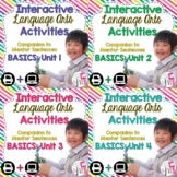 Interactive Language Arts Notebook Just the Basics Bundle (3-5) - Four Units!