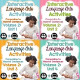 Interactive Language Arts Notebook (Vol 2) Bundle (Grades 3-5) - Four Units!