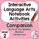 Interactive Language Arts Activities: FIRST Mentor Sentenc