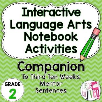 Interactive Language Arts Activities: THIRD Mentor Sentence Unit (Grade 2)